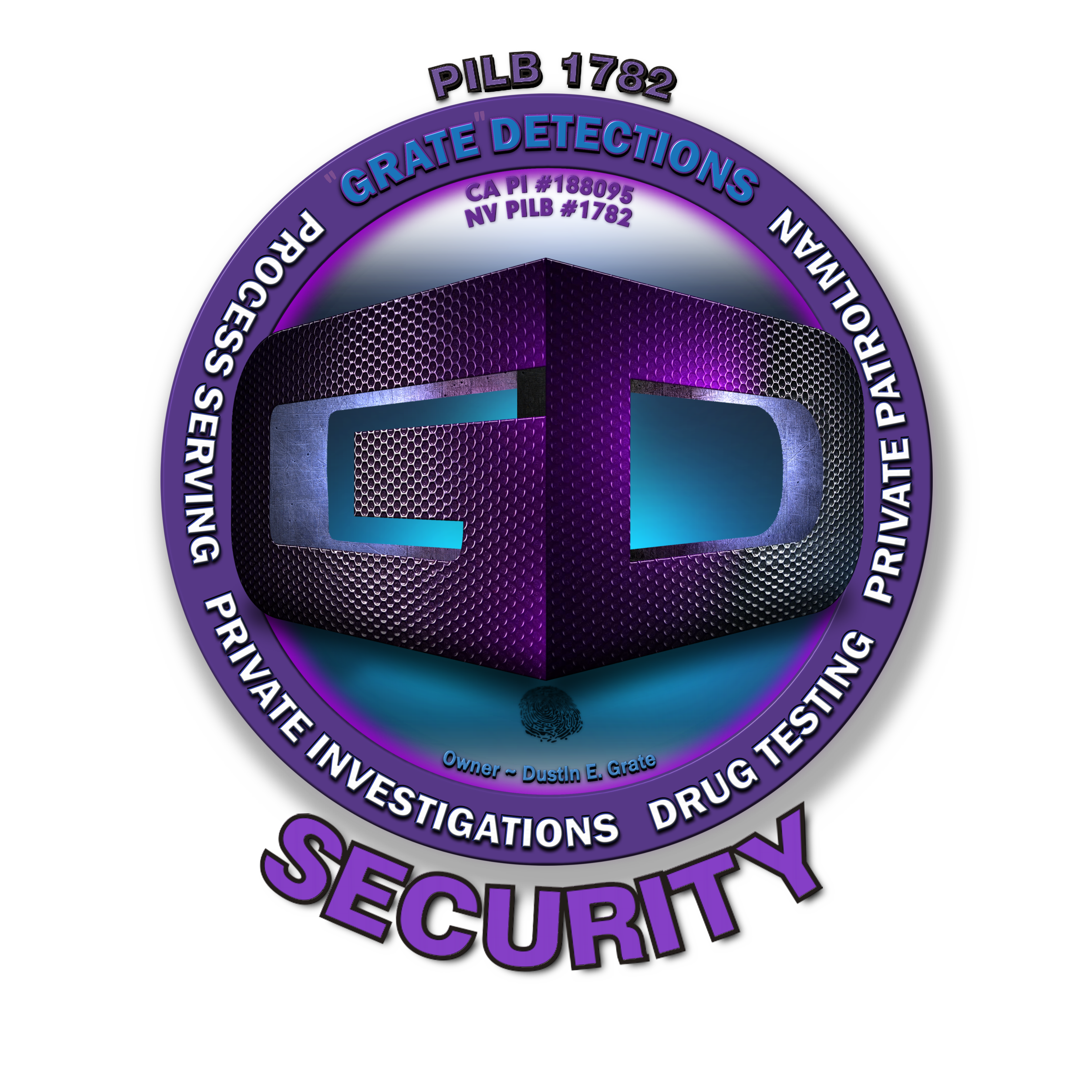 logo with security